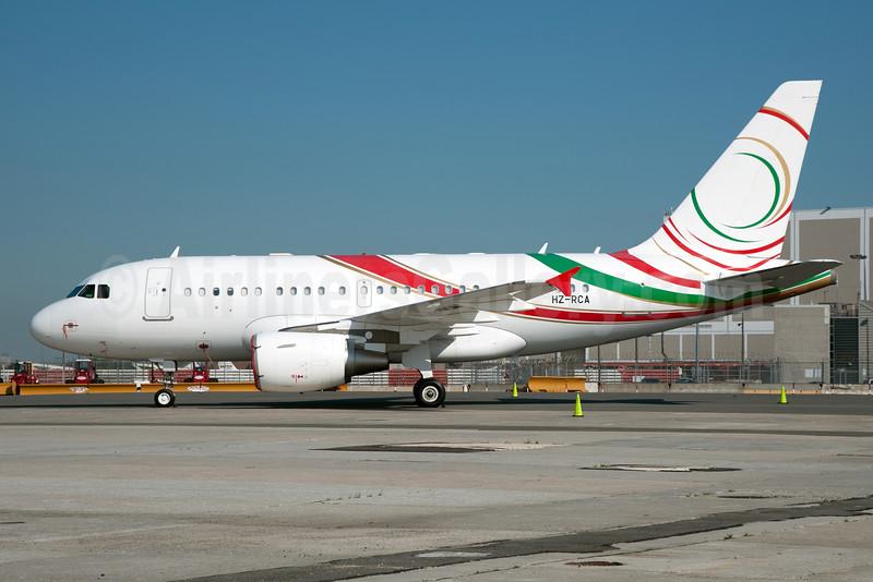 Mid East Jet Airbus A318-112 (ACJ) HZ-RCA (msn 3932) JFK (Fred Freketic). Image: 927982.