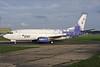 Sama Airlines (flysama.com) Boeing 737-3M8 HZ-BBK (msn 25016) BOH (Antony J. Best). Image: 905430.