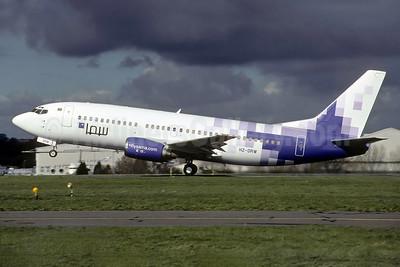 Sama Airlines (flysama.com) Boeing 737-33A HZ-DRW (msn 25138) (Richard Vandervord). Image: 931679.