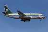 Saudia (Saudi Arabian Airlines) Boeing 737-268 HZ-AGA (msn 20574) HAM (Perry Hoppe). Image: 911065.