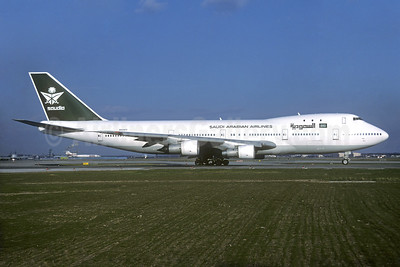 Saudia-Saudi Arabian Airlines (Tower Air) Boeing 747-121 N609FF (msn 20354) FRA (Christian Volpati Collection). Image: 935075.