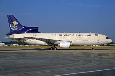 Saudi Arabian Airlines (Royal Flight) Lockheed L-1011-385-3 TriStar 500 HZ-HM5 (msn 1250) LBG (Christian Volpati). Image: 932583.