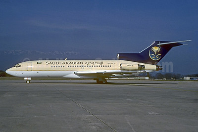 Saudi Arabian Airlines Boeing 727-21 HZ-OCV (msn 19006) GVA (Christian Volpati Collection). Image: 932589.
