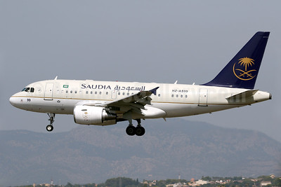 Saudia (Saudi Arabian Airlines) (Saudi Arabian Royal Flight) Airbus A318-112 (ACJ) HZ-AS99 (msn 3932) PMI (Javier Rodriguez). Image: 939161.