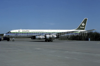 Saudia (ONA) McDonnell Douglas DC-8-55 N915R (msn 45916) (Christian Volpati Collection). Image: 941337.