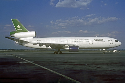 Saudi Arabian Airlines (Transair International Linhas Aereas) McDonnell DouglasDC-10-15 PP-OOO (msn 48258) JNB (Christian Volpati Collection). Image: 935074.