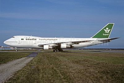 Saudia (Saudi Arabian Airlines) (Tower Air) Boeing 747-130 N603FF (msn 19746) FRA (Christian Volpati Collection). Image: 922367.