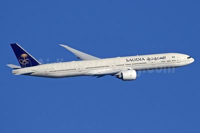 Saudia (Saudi Arabian Airlines) Boeing 777-3FG ER HZ-AK36 (msn 61599) LHR (SPA). Image: 936739.