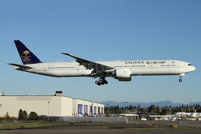 Saudia (Saudi Arabian Airlines) Boeing 777-3FG ER HZ-AK37 (msn 61594) PAE (Nick Dean). Image: 935563.