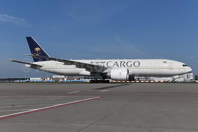 Saudia Cargo Boeing 777-FFG HZ-AK74 (msn 60340) AMS (Ton Jochems). Image: 941088.