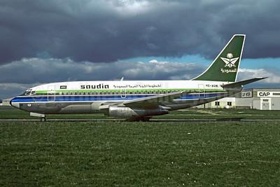 Aborted takeoff and overran the runway at Nejran, Saudi Arabia on January  6, 1997 (WO)