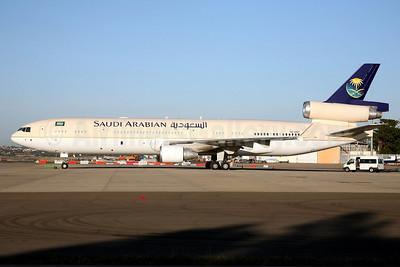 Saudi Arabian Airlines (Royal Flight) McDonnell Douglas MD-11 HZ-HM7 (msn 48532) SYD (John Adlard). Image: 932587.