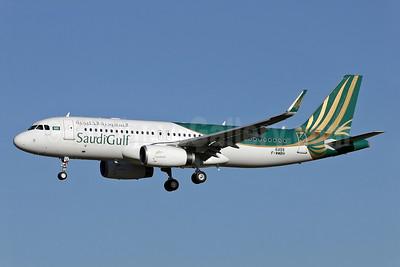 SaudiGulf Airlines Airbus A320-232 WL F-WWBH (HZ-SGA) (msn 6455) TLS (Eurospot). Image: 926237.