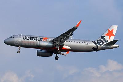 Jetstar Asia Airways Airbus A320-232 WL 9V-JSU (msn 5708) CGK (Michael B. Ing). Image: 939014.