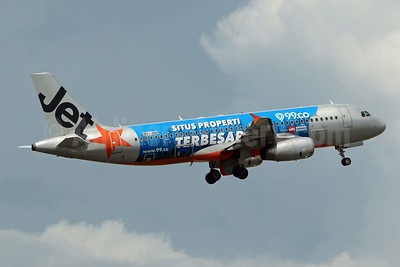 "Jetstar's 2018 ""99.co"" special livery"