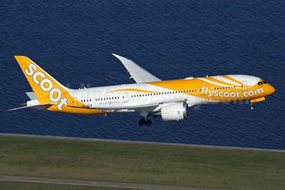 Scoot-flyscoot.com (Singapore Airlines) Boeing 787-8 Dreamliner 9V-OFB (msn 37118) SYD (Rob Finlayson). Image: 935261.