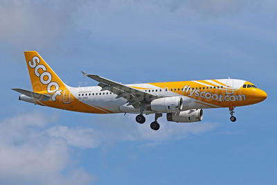 Scoot-flyscoot.com (Singapore Airlines) Airbus A320-232 9V-TRC (msn 4918) DPS (Pascal Simon). Image: 943571.