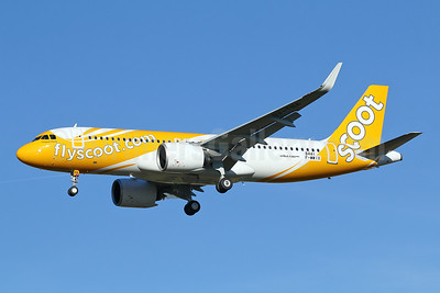 """Chapati Party"", Scoot's first Airbus A320neo"