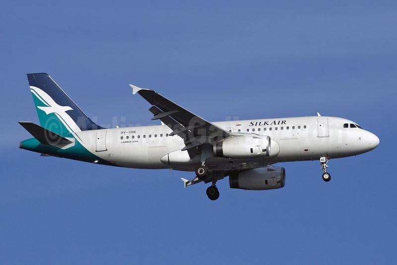 SilkAir Airbus A319-132 9V-SBE (msn 2568) SIN (Michael B. Ing). Image: 905274.