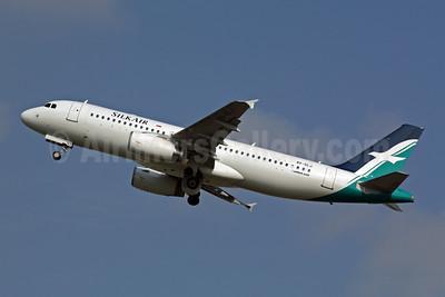 SilkAir Airbus A320-233 9V-SLJ (msn 3570) SIN (Michael B. Ing). Image: 901049.