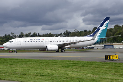 SilkAir Boeing 737-8SA WL 9V-MGC (msn 44219) BFI (Steve Bailey). Image: 922780.