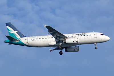 SilkAir Airbus A320-233 9V-SLK (msn 3821) SIN (Michael B. Ing). Image: 941929.