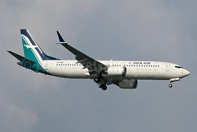 SilkAir Boeing 737-8 MAX 8 9V-MBE (msn 44242) SIN (Pascal Simon). Image: 944508.