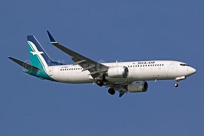 SilkAir Boeing 737-8 MAX 8 9V-MBD (msn 44241) SIN (Pascal Simon). Image: 945011.