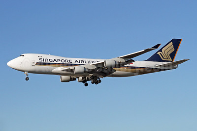 Singapore Airlines Cargo Boeing 747-412F 9V-SFN (msn 32899) LAX (Ron Monroe). Image: 944408.