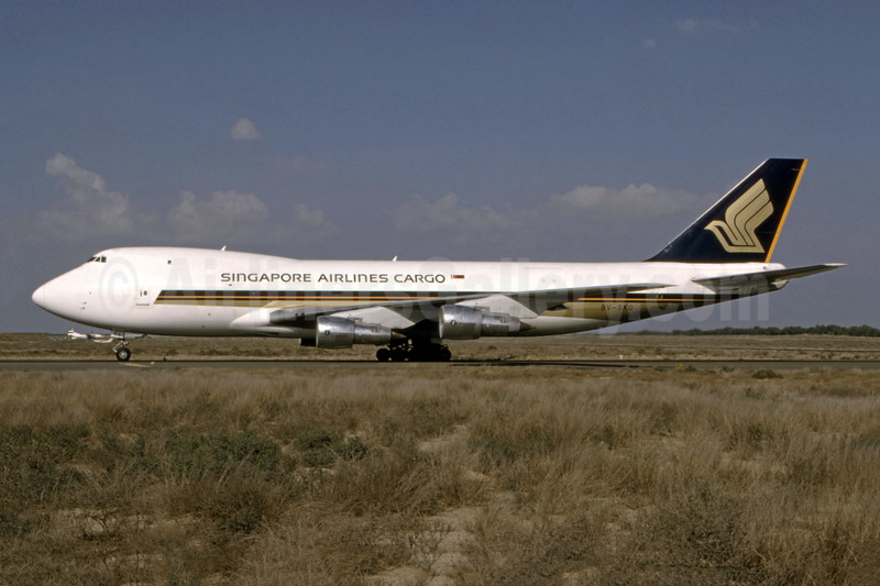 Singapore Airlines Cargo Boeing 747-212F 9V-SKQ (msn 24177) (Bernhard Ross). Image: 944328.