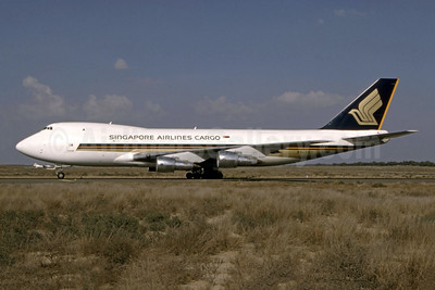 Singapore Airlines Cargo Boeing 747-212F 9V-SKQ (msn 24177) (Bernhard Ross). Image: 944328.