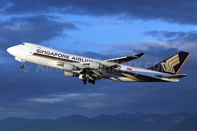 Singapore Airlines Cargo Boeing 747-412F 9V-SFG (msn 26558) ANC (Michael B. Ing). Image: 907024.