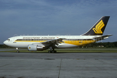 Singapore Airlines Airbus A310-222 9V-STJ (msn 350) SIN (Christian Volpati Collection). Image: 933981.