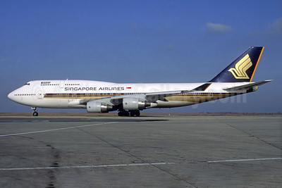 Singapore Airlines Boeing 747-412 9V-SMD (msn 24064) CDG (Christian Volpati). Image: 939838.