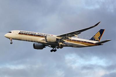 Singapore Airlines Airbus A350-941 9V-SMW (msn 341) SEA (Joe G. Walker). Image: 955469.