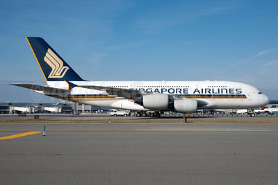 Singapore Airlines Airbus A380-841 9V-SKS (msn 085) JFK (Fred Freketic). Image: 935521.