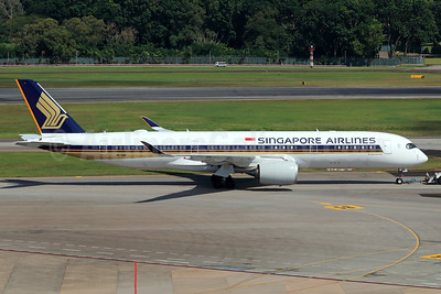 Singapore Airlines Airbus A350-941 9V-SMM (msn 099) SIN (Michael B. Ing). Image: 939715.