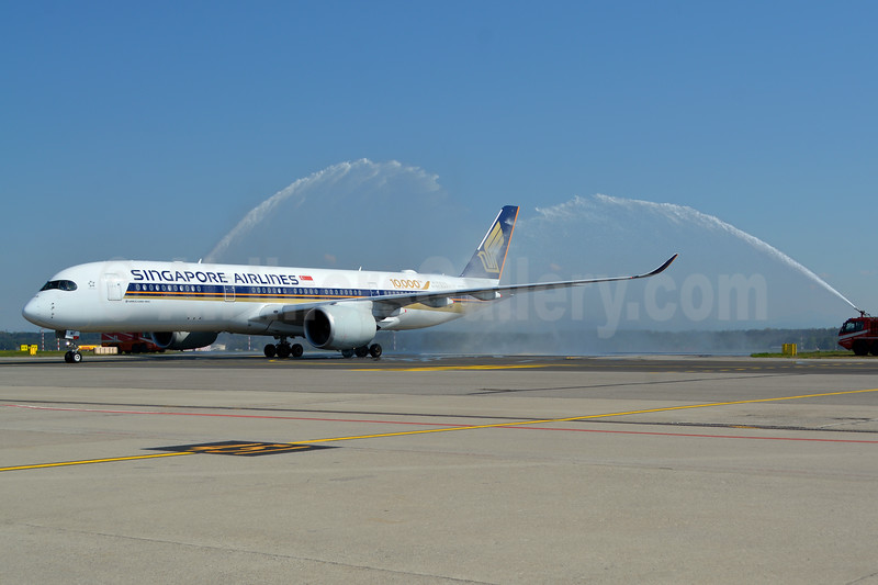 Singapore brings the Airbus A350 to Milan
