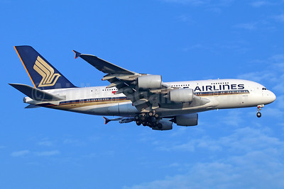 Singapore Airlines Airbus A380-841 9V-SKC (msn 006) SIN (Michael B. Ing). Image: 935907.