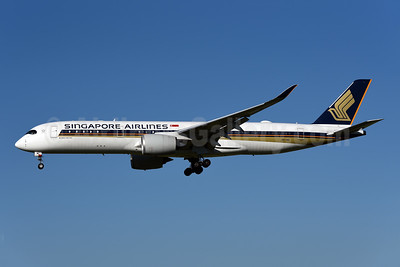 Singapore Airlines Airbus A350-941 9V-SMC (msn 031) ZRH (Rolf Wallner). Image: 954109.