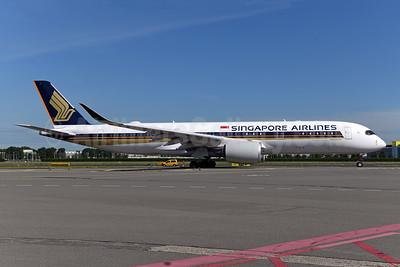 Singapore Airlines Airbus A350-941 9V-SJA (msn 364) AMS (Ton Jochems). Image: 955506.