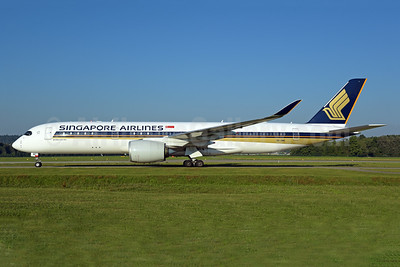 Singapore Airlines Airbus A350-941 9V-SMO (msn 116) SIN (Michael B. Ing). Image: 939716.