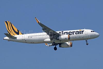 Tigerair (Singapore) Airbus A320-232 WL 9V-TRW (msn 5605) BKK (Michael B. Ing). Image: 938730.