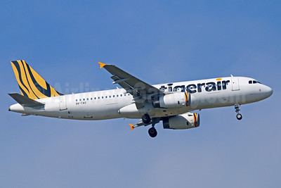Tigerair (Singapore) Airbus A320-232 9V-TAS (msn 4493) BKK (Michael B. Ing). Image: 921767.