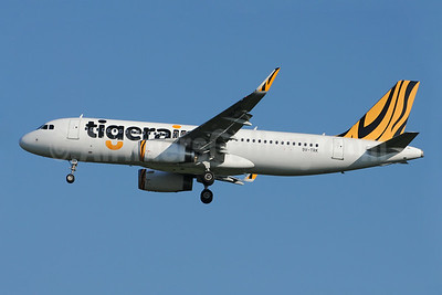 Tigerair (Singapore) Airbus A320-232 WL 9V-TRK (msn 5697) BKK  (Richard Vandervord). Image: 923718.