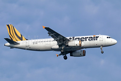 Tigerair (Singapore) Airbus A320-232 9V-TAS (msn 4493) SIN (Michael B. Ing). Image: 938735.