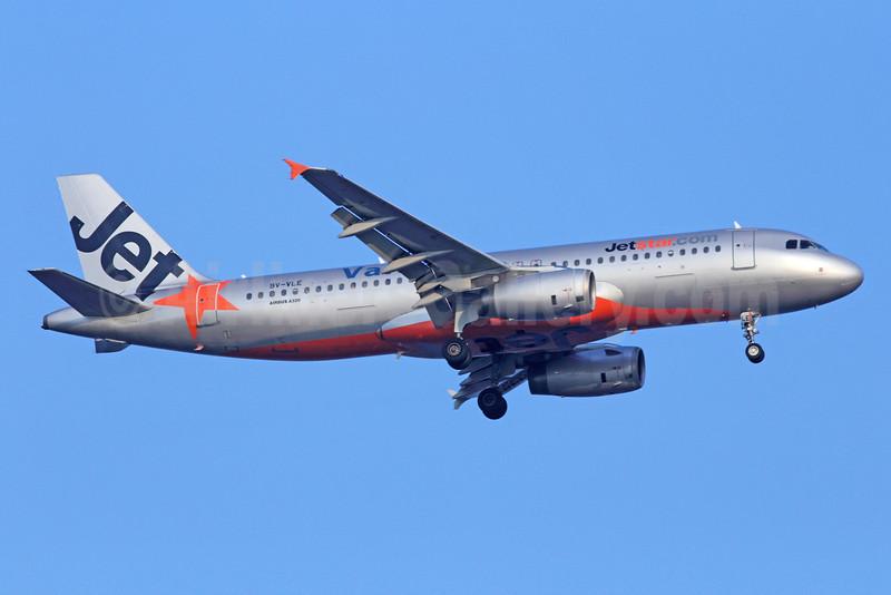 Valuair-Jetstar Airways (Singapore) Airbus A320-232 9V-VLE (msn 2156) SIN (Michael B. Ing). Image: 925616.