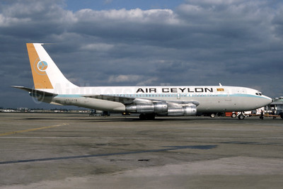 Air Ceylon Boeing 720-023B 4R-ACS (msn 18013) LHR (Bruce Drum Collection). Image: 946693.