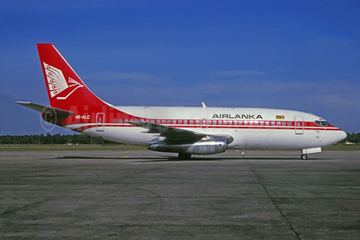 AirLanka Boeing 737-2L9 4R-ALC (msn 21278) (Martin Hornlimann - Bruce Drum Collection). Image: 943823.