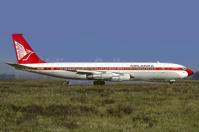 AirLanka (SCIBE Airlift Zaire) Boeing 707-329C 9Q-CBW (msn 20200)(Christian Volpati). Image: 907389.